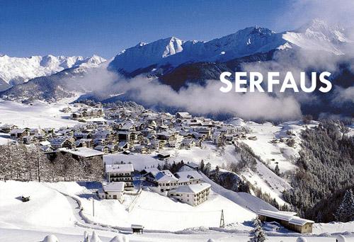 Taxi Innsbruck nach Serfaus
